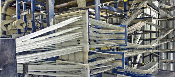 La pultrusión para la fabricación de poliéster reforzado con fibra de vidrio