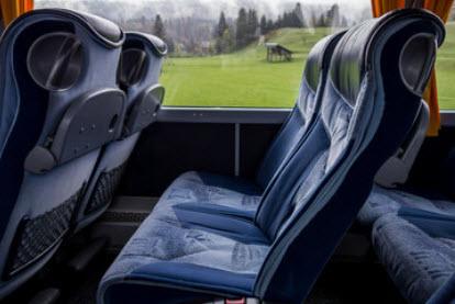 Componentes de autobus en poliester