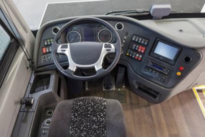 Elementos de autobus en poliester