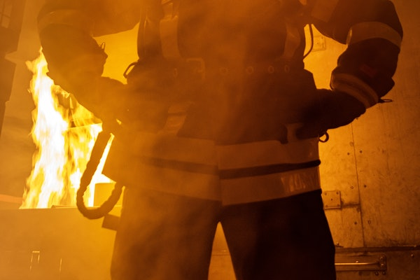 fibra de vidrio resistencia ante un incendio